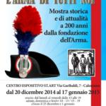 11 gennaio 2015 - GIORNATA DELL'ARMA DEI CARABINIERI A CALENZANO