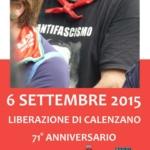 6 Settembre 2015 - 71° Anniversario della liberazione di Calenzano