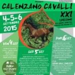 Espositori per la XXI edizione di Calenzano Cavalli - 2015