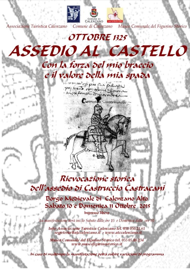 locandina assedio al castello