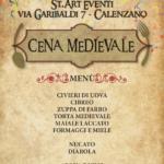 Cena Medievale - venerdì 5 febbraio 2016