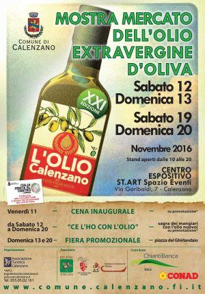 Mostra Mercato dell'olio d'oliva di Calenzano - Edizione 2016