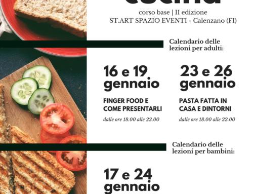 Corso Base di Cucina – seconda edizione 2017