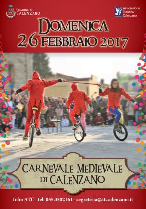 CARNEVALE MEDIEVALE DI CALENZANO 2017
