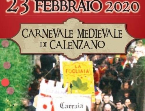 Lotteria Carnevale Medievale 2020